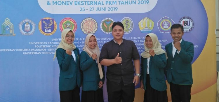 PKM-M Mahasiswa Matematika Jadikan Popok Bayi sebagai Media Tanam Hidroponik